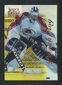 1997 Select Certified Edition 1996 Mirror Gold Patrick Roy Avalanche /30