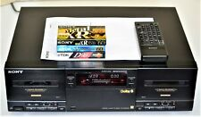 Sony TC-WR 901 ES in NEAR mint Con+100% Serviced+REMOTE+ FREE TAPES & SHIPPING!