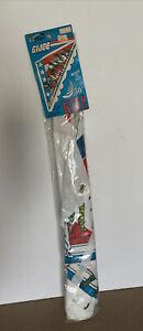 "Large Vintage 1984 GI JOE 50"" Hi-Flyer Kite Brand New Sealed"
