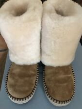 Women's Ugg Boots Twinface Sheepskin Size 7