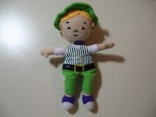 "8"" plush Boy doll, made by Big Treasure, good condition"