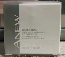 Avon Clinical Line and Wrinkle Corrector 1 oz NEW SEALED FULL SIZE