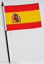 Spain State Small Hand Waving Flag