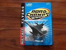 ROAD CHAMPS 1997 DIE CAST FLYERS SERIES F-16A FALCON ITEM # 62034 FACTORY SEALED