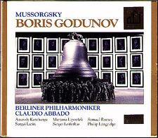 MUSSORGSKY: BORIS GODUNOV Kotcherga Ramey Larin Leiferkus Lipovsek ABBADO 3CD