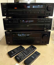 Kenwood KX 7030  3 Head Cassette Player/ Recorder in Mint Condition