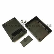 111x82x38mm Abs Negro gabinete de plástico pequeño proyecto Caja Para Circuito Electrónico