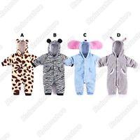 Cute Baby Animal Costumes - Boys Girls Kids Fleece Fancy Dress - New