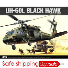 [Brand New] ACADEMY 12111 1/35 Plastic Model Kit UH-60L BLACK HAWK Helicopter