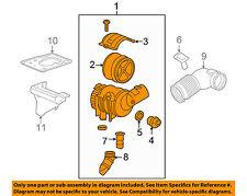 GM OEM Air Cleaner Intake-Filter Box Housing 25839609