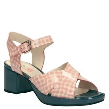 Clarks Orla Kiely Women's Pink Floral Blanche Sandals Shoes - Size 5 BNWT