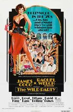 WILD PARTY - 1975 - original 27x41 movie poster - RAQUEL WELCH - NM to MINT COND