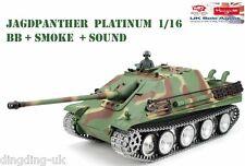 Heng Long Radio Remote Control Rc German Jagdpanther Tank UK -- Platinum Version