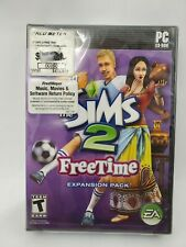 The Sims 2 Freetime Expansion Pack CD-ROM PC Game Sealed
