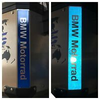 RIFRANGENTI REFLECTIVE BMW MOTORRAD STICKERS ADESIVI BLU BLUE The1200stickerS