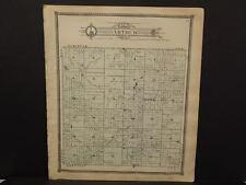 Michigan Clare County Map Arthur Township c.1905    J14#31