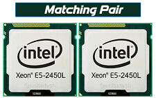 Matched Pair Intel Xeon E5-2450L Eight-Core Processor 1.80GHz 8.0GT/s 20MB Cache