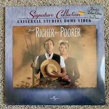 For Richer Or Poorer Signature Collection Laserdisc - LATE RELEASE - BRAND NEW