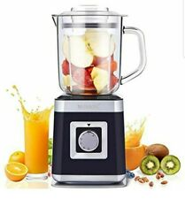 Blender Personal Countertop Blender Smoothie Maker 5 Speeds w Glass Container