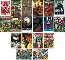 MARVEL COMICS - POSTERS (Official) 61x91.5cm - Large Range Of Characters (Maxi)
