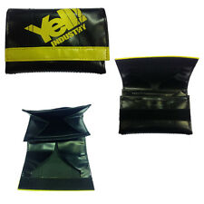 Portefeuille homme eco-cuir noir YELL INDUSTRIE 12x8 cm