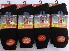 12 Pairs Assorted Dark Warm Winter Thermal Ladies Socks UK 4-7 EU 35-39 L10733