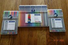 Staedtler Triplus colour and Fineline pens x 40