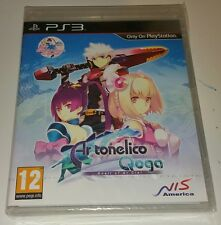 Ar Tonelico Qoga Knell of Ar Ciel PS3 New Sealed UK PAL SPECIAL EDITION CD inc.