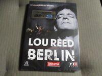 "COFFRET DVD + BLU-RAY NEUF ""LOU REED : BERLIN"""
