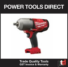 NEW MILWAUKEE M18 18V FUEL CORDLESS M18CHIWF12-0 IMPACT WRENCH (FRICTION RING)