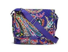 """Vera Bradley ICONIC MESSENGER Tablet Bag in """"Romantic Paisley"""" Holds i-Pad NWT"""
