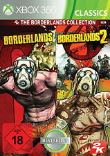 X360 / Xbox 360 Spiel - Borderlands Collection: Borderlands 1+2 (mit OVP)(USK18)