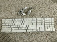 Apple GENUINE Keyboard Model A1048 W/ Number Pad And USB Extension