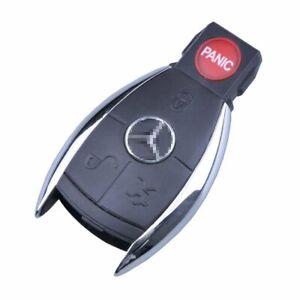 New 4 Buttons Smart Key Case Shell Fob For Mercedes Benz C E R CL GL SL CLK SLK