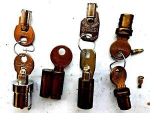 Lot of   OEM American PadLock   Cylinders  with    Keys