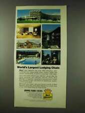1978 Best Western Motel Ad - World's Largest Chain