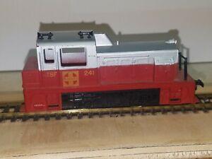 Tyco HO Scale Santa Fe Plymouth Yard Diesel Locomotive
