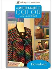 A Knitter's Guide to Color w/ Laura Bryant Knitting Daily Workshop DVD