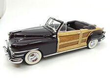 New Listing1948 Chrysler Town & Country ~ Danbury Mint ~ with Box and Cert ~ Xlnt Condition