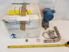 Rosemount 3051CD1A44A1AB4 Pressure Transmitter 10.5-55VDC 0-6.22kPA 138bar New