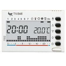 BPT TH345BI - BPT TH345BI CRONOTERMOSTATO DIGITALE SETTIMANALE INCASSO 3X1,5 AAA