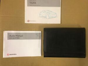 Vauxhall Tigra B Owners Handbook Manual  Audio Book + Case 2005 - 2009  B2