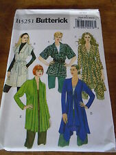 "PATRON ""BUTTERICK 5 TUNIQUES / GILETS LONG COURT  T XS A M  N°5251  (FF)"