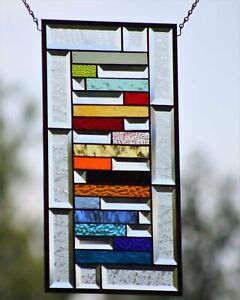 • Spice of Life • 20.5x 10.5  Beveled Stained Glass Windows