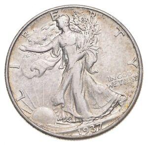 Better 1937-D - US Walking Liberty 90% Silver Half Dollar Coin Set Break *886