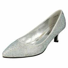 Decolté e sabot da donna stiletti argento sera