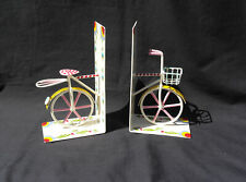 Bicycle fair trade hand painted bookends