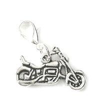 Charm Anhänger Motorrad Kette Bettelarmband Damen Herren Biker Schmuck