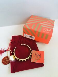 WATERFORD REBEL ELLA B DESIGNER GOLD (costume jewellery) Bangle NEW BOXED