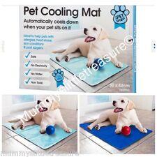 The Pet Cooling Cooler Mat Dog Cat Summer Cool Gel 60cm x 44cm